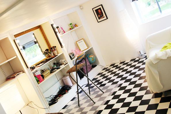 Lina&Lindas studio loftet