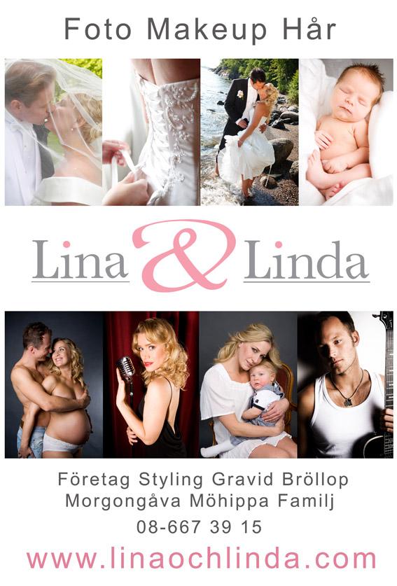 Lina&Linda annons på statsklockan
