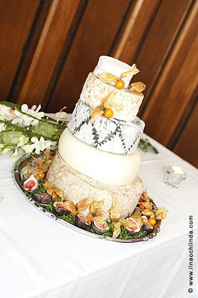 Bröllopstårta i ost