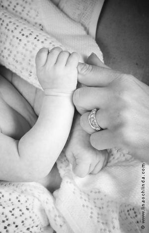 Babyfoto Philip hand