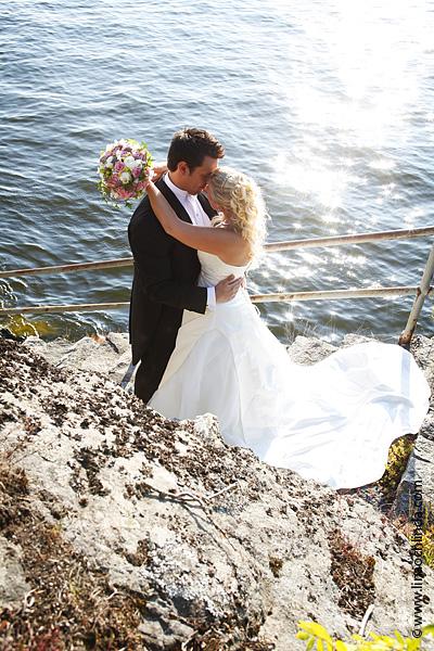 Bröllopsfotografering Fanny och Anders