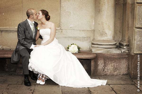 Bröllopsfotogarfering