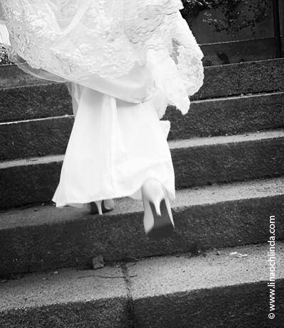 Bröllop trapp