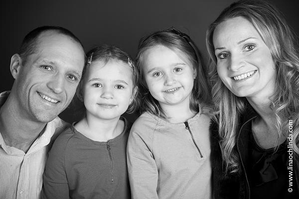 Familjeportträtt med Cernjul