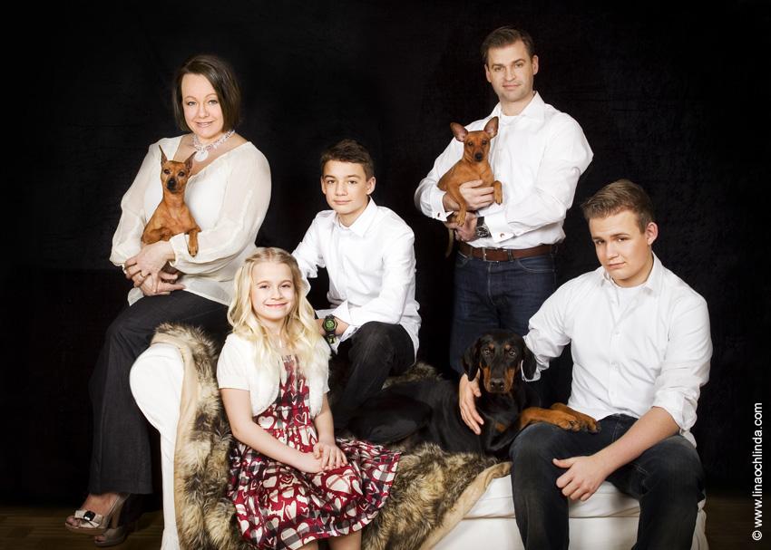Familjefotografering Holm