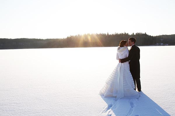Vinterbröllop med Anna och Gore